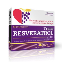 Trans Resveratrol 200+ 30kaps.