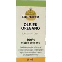 Olejek oregano ekologiczny 5 ml -100%