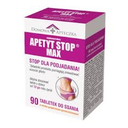 Apetyt Stop MAX 90tabl. do ssania