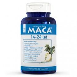MACA - wspomaga rozwój młodego organizmu