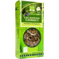 Liść borówki czernicy - herbatka ekologiczna  25g