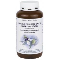 Kapsułki z olejem z czarnuszki siewnej 500 mg - 400 kap.