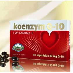 Koenzym Q-10 + Witamina E