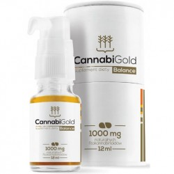 Olejek CBD CannabiGold Balance, 1000mg 12ml