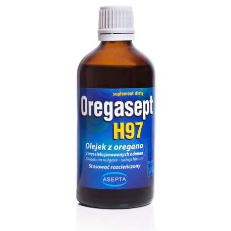 Oregasept - olejek z oregano H97 100 ml